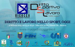 Master in Diritto Sportivo